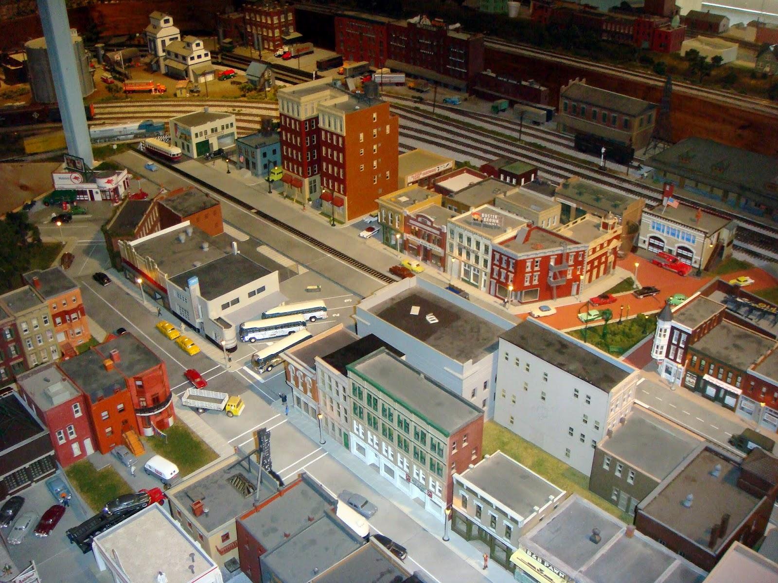Mod Detail Model Train Village Layouts