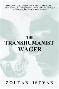 The Transhumanist Wager cover pic