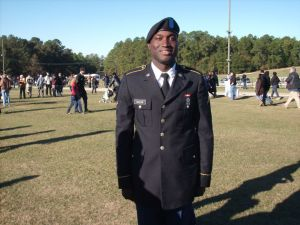 James graduation from boot camp