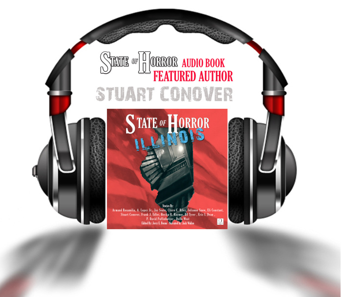 Audio book feature author Stuart Conover