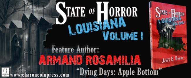 State of Horror: Louisiana Volume I feature author Armand Rosamilia