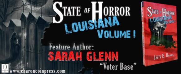 Feature Author Sarah Glenn