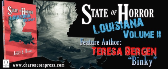 State of Horror: Louisiana Volume II feature author Teresa Bergen